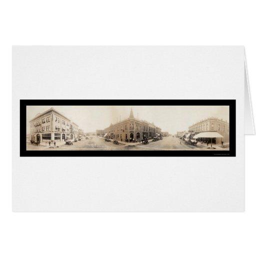 Ciudad rápida, foto 1912 del SD Tarjeta De Felicitación
