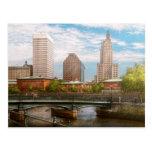 Ciudad - RI - Providence - la ciudad de Providence Tarjetas Postales