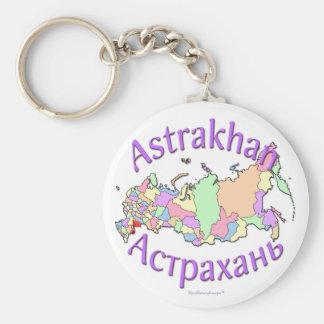 Ciudad Rusia de Astrakhan Llavero Redondo Tipo Pin