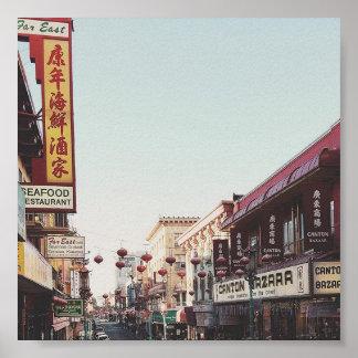 Ciudad San Francisco de China Póster