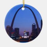 Ciudad Scape de St. Louis Adorno Para Reyes