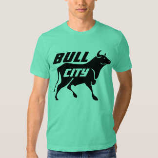 Ciudad Swagg de Bull Camisas