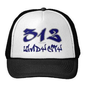 Ciudad ventosa del representante (312) gorro