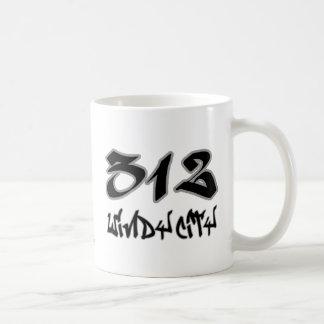 Ciudad ventosa del representante (312) tazas de café