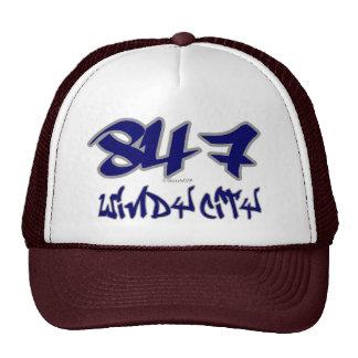 Ciudad ventosa del representante (847) gorras