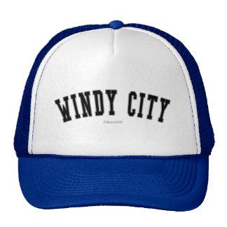 Ciudad ventosa gorras