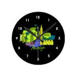 ciudad verde image.png de Antalya Reloj De Pared