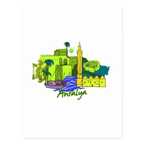 ciudad verde image.png de Antalya Tarjeta Postal