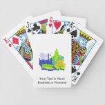 ciudad verde image.png de Hong-Kong Baraja Cartas De Poker