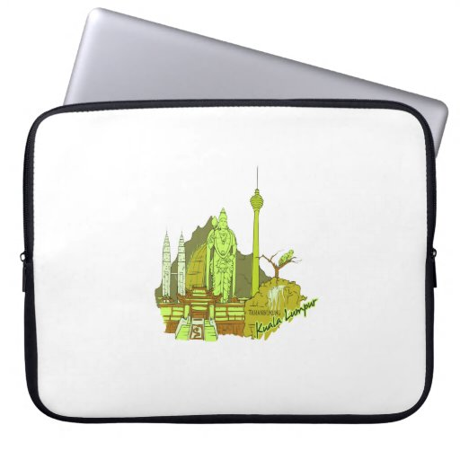 ciudad verde image.png de Kuala Lumpur Mangas Portátiles