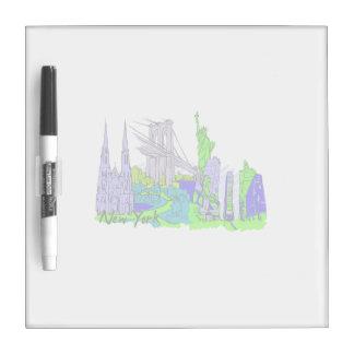 ciudad verde image.png de New York City Pizarras Blancas