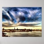 Ciudad vieja de Estocolmo Póster