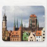 Ciudad vieja de Gdansk Alfombrilla De Ratones