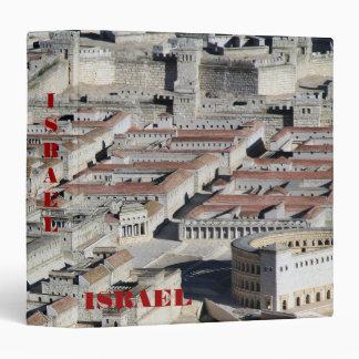 Ciudad vieja de la carpeta del fondo de Jerusalén