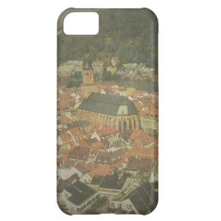 Ciudad vieja del caso del iPhone 5 de Heidelberg