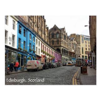 Ciudad vieja, Edimburgo, Escocia Postal