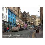 Ciudad vieja, Edimburgo, Escocia Tarjeta Postal
