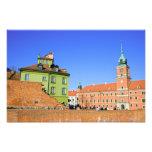 Ciudad vieja en Varsovia Fotografías