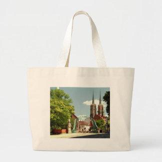 Ciudad vieja en Wroclaw Bolsas