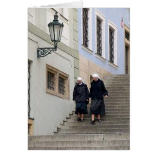 Ciudad vieja, Praga Tarjeta De Felicitación