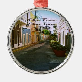 Ciudad vieja San Juan Puerto Rico Ornaments Para Arbol De Navidad