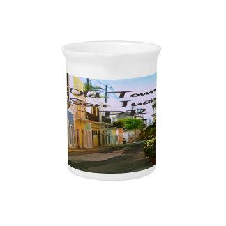 Ciudad vieja San Juan Puerto Rico Jarrones