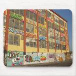 Ciudad Warehouse Mousepad de Astoria/Long Island Tapetes De Ratón