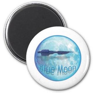 Ciudad WaveZ de la luna azul Iman De Nevera