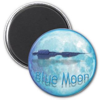 Ciudad WaveZ de la luna azul Imanes De Nevera