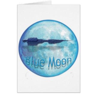 Ciudad WaveZ de la luna azul Tarjetón