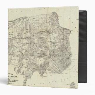 """Ciudad y condado de San Francisco Carpeta 1 1/2"""""""