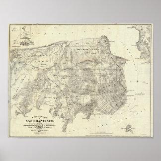 Ciudad y condado de San Francisco Póster