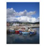 Ciudad y puerto, cañada, condado Kerry, Fotografía
