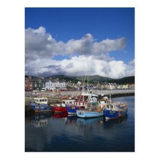 Ciudad y puerto, cañada, condado Kerry, Tarjeta Postal