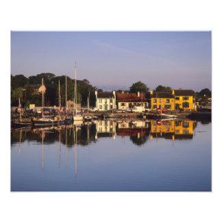 Ciudad y puerto, Kinvarra, condado Galway, Fotografía