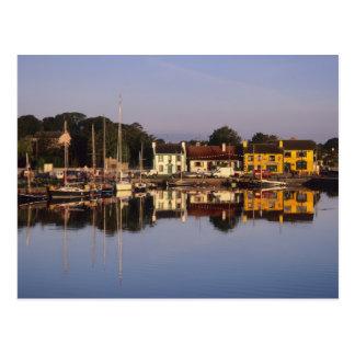 Ciudad y puerto, Kinvarra, condado Galway, Tarjeta Postal