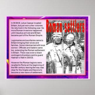 Ciudadanía, inmigración, colonos romanos poster