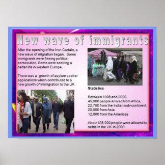 Ciudadanía, inmigración, nueva ola de inmigrantes poster