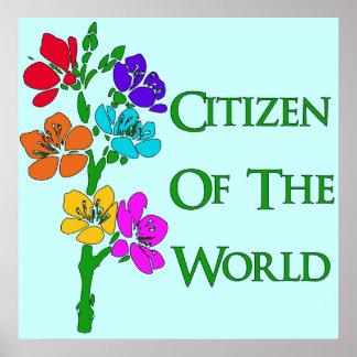 Ciudadano del mundo poster