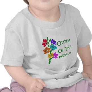 Ciudadano del mundo camisetas