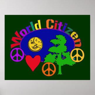 Ciudadano del mundo póster