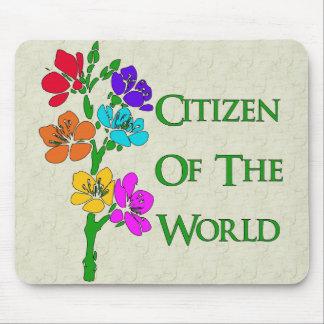 Ciudadano del mundo mouse pads