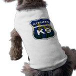 Ciudadano K9 de Kentucky Camiseta De Perrito