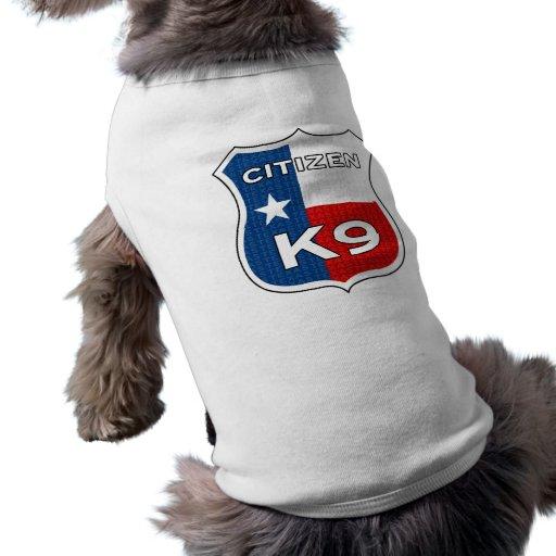 Ciudadano K9 de Tejas Ropa De Mascota