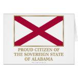 Ciudadano orgulloso de Alabama Felicitación