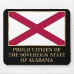 Ciudadano orgulloso de Alabama Alfombrillas De Ratones