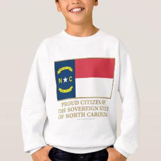 Ciudadano orgulloso de Carolina del Norte Sudadera
