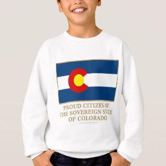 Ciudadano orgulloso de Colorado Sudadera
