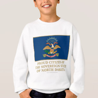 Ciudadano orgulloso de Dakota del Norte Sudadera