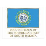 Ciudadano orgulloso de Dakota del Sur Postales